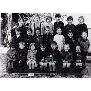 Coublevie : école en 1969-70