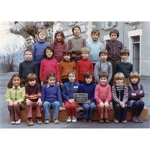 Coublevie : école en 1973-74