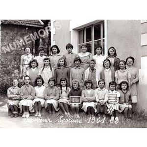 Coublevie : école en 1961-62