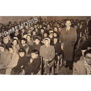 Coublevie : sortie d'école en 1959