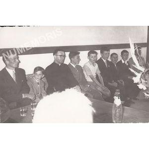 Voissant : remise des diplômes vers 1957