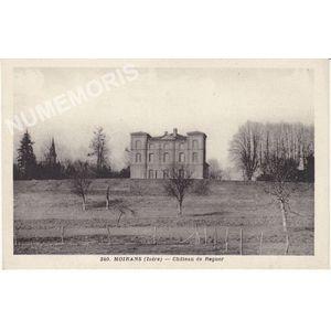 340 Moirans (Isère) château de Regner