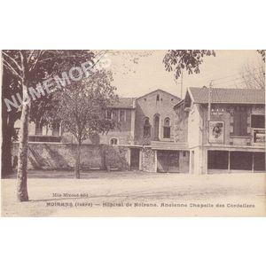 Moirans (Isère) hôpital de Moirans. Ancienne chapelle des Cordeliers