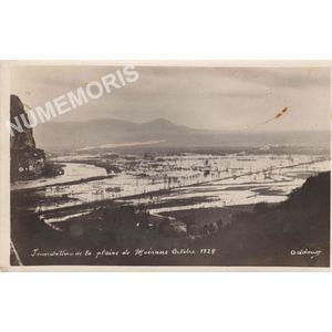 Inondations de la plaine de Moirans octobre 1928