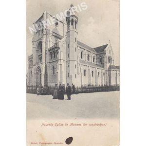 Nouvelle Eglise de Moirans (en construction)
