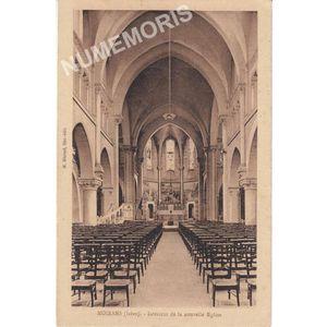 Moirans (Isère) intérieur de la nouvelle église