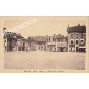 Moirans (Isère) place de l'Assemblée Départementale
