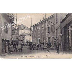 Moirans (Isère) quartier du Pont