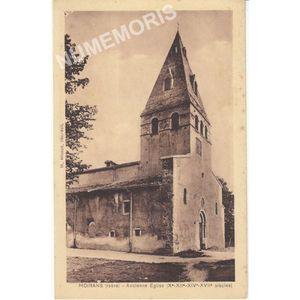 Moirans (Isère) ancienne église (Xe XIIe XIVe XVIIe sicles)
