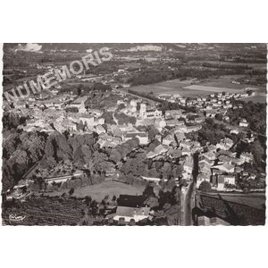 Moirans (Isère) vue panoramique aérienne