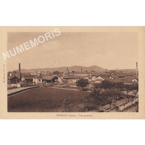 Moirans (Isère) vue générale