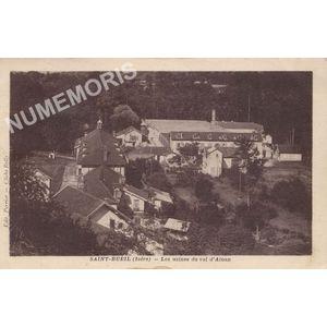 Saint-Bueil (Isère) les usines du Val d'Ainan