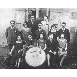 Bilieu : conscrits de 1927-28