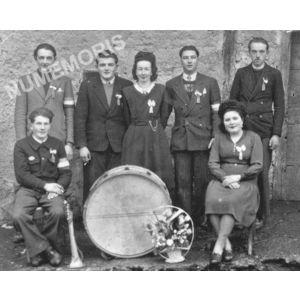 Bilieu : conscrits de 1948-49