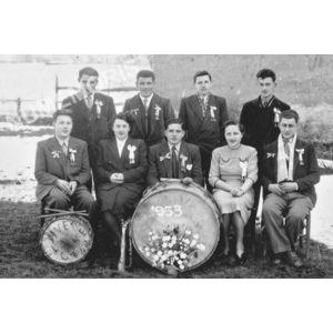 Bilieu : conscrits de 1953