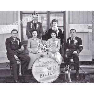 Bilieu : conscrits de 1950-51