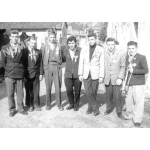 Bilieu : conscrits de 1957