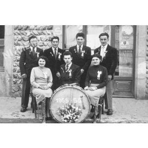 Bilieu : conscrits de 1955-56