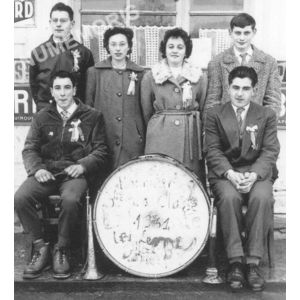 Bilieu : conscrits de 1961