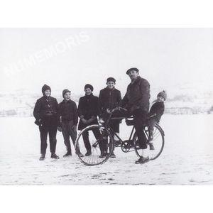 Bilieu : le lac gelé en 1963