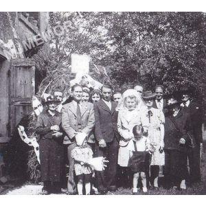 Bilieu : mariage Garampon en 1943