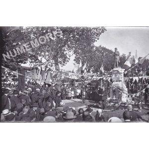 Bilieu : inauguration du momument aux morts en 1923