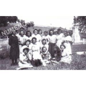 Bilieu : ouvrières de l'usine de tissage pendant la seconde guerre