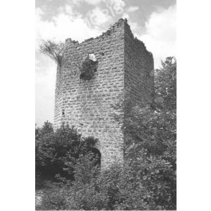 Chirens : la tour de Clermont-Tonnerre