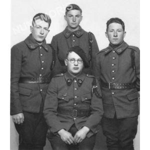 Bilieu : militaires pendant la seconde guerre