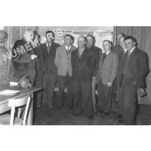 Bilieu : conseil municipal de 1960