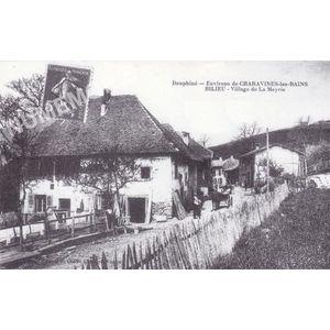 Dauphiné environs de Charavines-les-Bains Bilieu village de la Meyrie