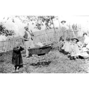 Bilieu : cueillette de fruits avant 1914