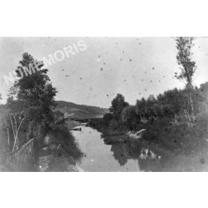 Charavines le canal avant 1914