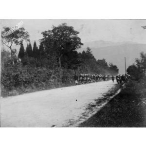 Saint Jean de Moirans : grandes manoeuvres en septembre 1902 1/3