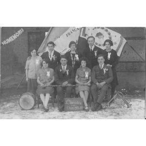 conscrits de Charancieu en 1927-28