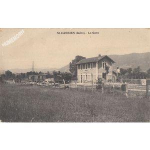 St-Cassien (Isère) la gare
