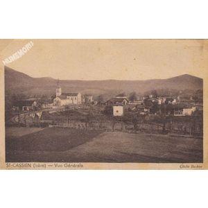 St-Cassien (Isère) vue générale