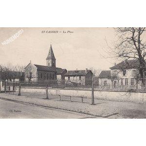 St-Cassien la place
