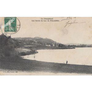 JG 286 Dauphiné les bords du lac de Paladru