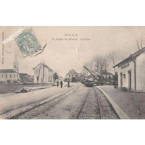 Cie VSB St-Joseph de Rivière la gare