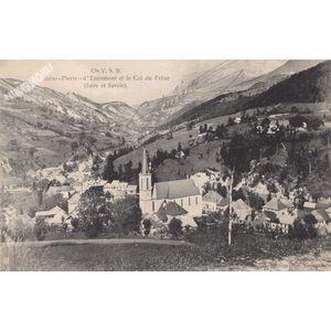 Cie VSB Saint-Pierre d'Entremont et le col du Frêne