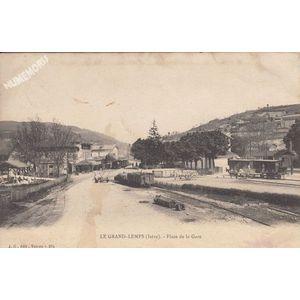 JG 264 le Grand-Lemps (Isère) place de la gare