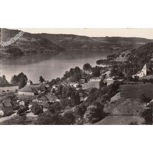 21417 Paladru (Isère) et le lac de Charavines