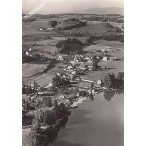 Paladru (Isère) 21406 vue générale aérienne