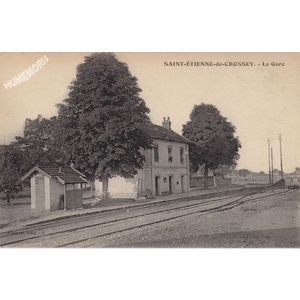 Saint-Etienne-de-Crossey la gare