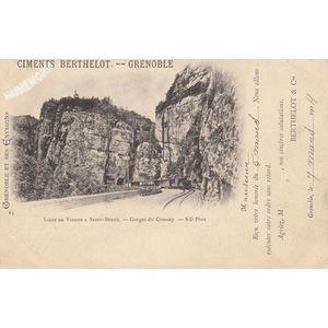 063 Ligne de Voiron à Saint-Béron Gorges du Crossey ND Phot