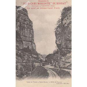 062 Ligne de Voiron à Saint-Béron Gorges du Crossey collections ND Phot