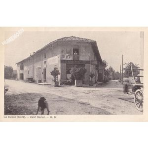 la Buisse (Isère) café Deriat