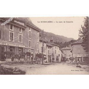 la Buisse (Isère) la route de Grenoble