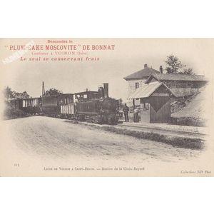 225 Ligne de Voiron à Saint-Béron station de la Croix-Bayard collections ND Phot
